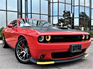 Used 2017 Dodge Challenger SRT|392|SUNROOF|ALLOYS|VENTED SEATS|LEATHER INTERIOR| for sale in Brampton, ON