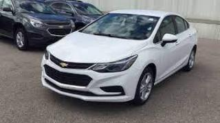Used 2017 Chevrolet Cruze Auto LT, Reverse cam, No Accident for sale in Concord, ON