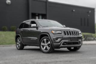 Used 2015 Jeep Grand Cherokee Overland |DIESEL|NAV|PANOROOF|ACC|B.SPOT|CLEANCARFAX for sale in North York, ON