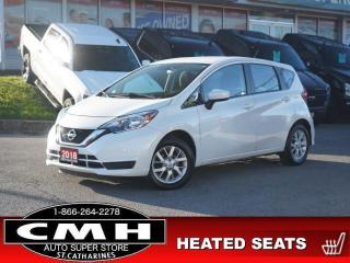 Used 2018 Nissan Versa Note SV  CAM HTD-SEATS BLUETOOTH 15-AL for sale in St. Catharines, ON