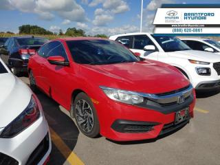 Used 2016 Honda Civic Coupe LX for sale in Brantford, ON