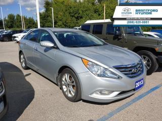Used 2013 Hyundai Sonata Limited  - $101 B/W for sale in Brantford, ON