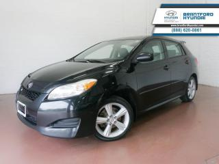 Used 2010 Toyota Matrix FUEL-EFFICIENT | LARGE CARGO SPACE for sale in Brantford, ON