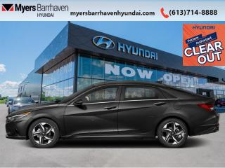 New 2022 Hyundai Elantra Ultimate  - Leather Seats - $190 B/W for sale in Nepean, ON