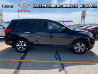 Used 2018 Nissan Pathfinder 4x4 S  - Bluetooth -  SiriusXM for sale in Steinbach, MB