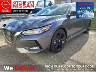 New 2021 Nissan Sentra SR CVT  - Sport Interior - $168 B/W for sale in Kitchener, ON