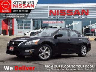 Used 2015 Nissan Altima 2.5 SV   - SUNROOF | BLUETOOTH | HEATED SEATS for sale in Kitchener, ON