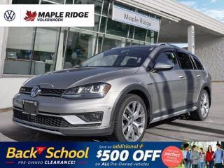 Used 2017 Volkswagen Golf Alltrack ALLTRACK AUTO DRIVER ASSISTANCE PKG for sale in Maple Ridge, BC