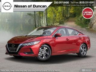 New 2021 Nissan Sentra SV for sale in Duncan, BC