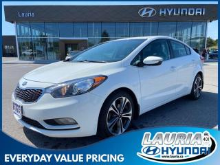 Used 2015 Kia Forte SX - LEATHER / NAVIGATION for sale in Port Hope, ON