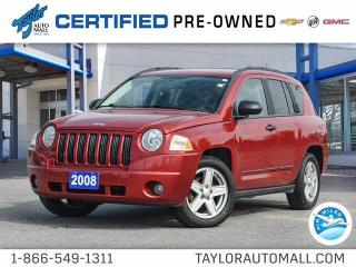 Used 2008 Jeep Compass Sport for sale in Kingston, ON