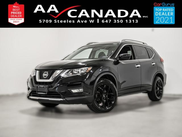 2018 Nissan Rogue SV AWD   PANO ROOF   360 CAM  