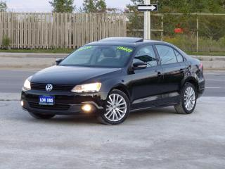 Used 2011 Volkswagen Jetta 2.5 SPORTLINE,LEATHER,LOADED,NO-ACCIDENT,CERTIFIED for sale in Mississauga, ON