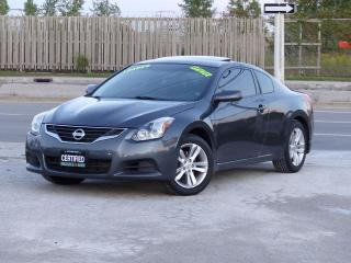 Used 2010 Nissan Altima COUPE,LEATHER,LOADED,AUTOMATIC,SUNROOF,CERTIFIED for sale in Mississauga, ON