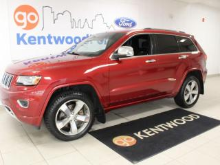 Used 2014 Jeep Grand Cherokee Overland | 4x4 | 5.7L V8 | Tech Group | Leather for sale in Edmonton, AB