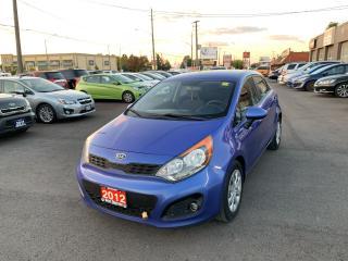 Used 2012 Kia Rio LX+ for sale in Hamilton, ON