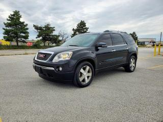 Used 2010 GMC Acadia ALL WHEEL DRIVE, NO ACCIDENT, ONE OWNER, CERTIFIED for sale in Mississauga, ON