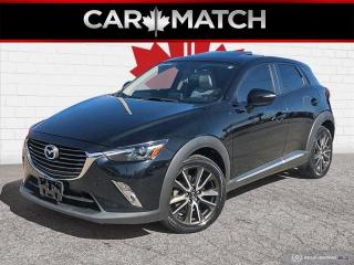 Used 2016 Mazda CX-3 GT / AWD / LEATHER / NO ACCIDENTS for sale in Cambridge, ON