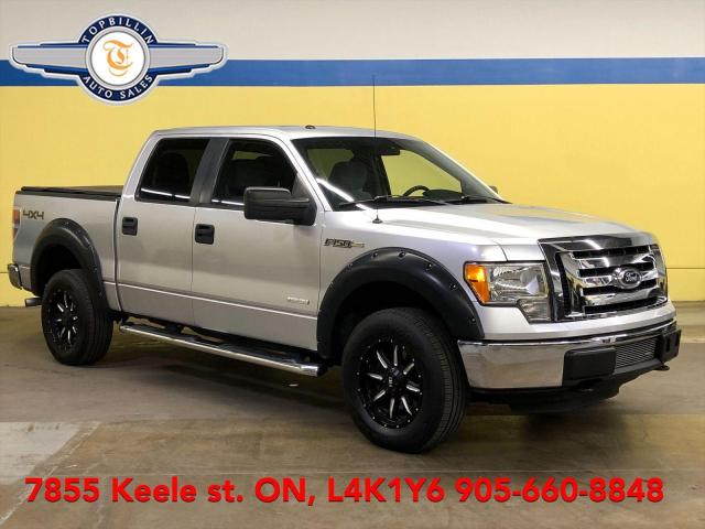 2012 Ford F-150 4X4 SuperCrew, Ecoboost, 2 Years Warranty