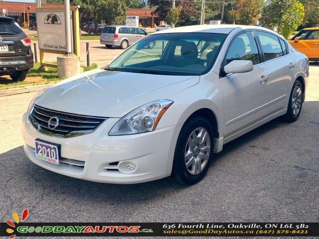 2010 Nissan Altima S|LOW KM|NO ACCIDENT|PUSH START|CERTIFIED
