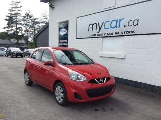 Used 2016 Nissan Micra SV A/C. POWERGROUP. AWESOME BUY!! GREAT VALUE!!! for sale in Kingston, ON