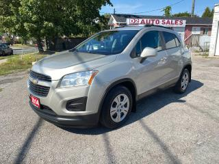 Used 2014 Chevrolet Trax Accident Free/Automatic/Bluetooth/Comes Certified for sale in Scarborough, ON