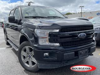 Used 2018 Ford F-150 Lariat DIESEL, LEATHER HEATED SEATS for sale in Midland, ON