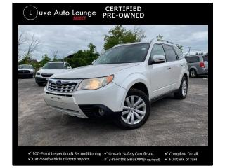 Used 2012 Subaru Forester X Touring - SUNROOF, 5-SPEED MANUAL!, HEATED SEATS for sale in Orleans, ON