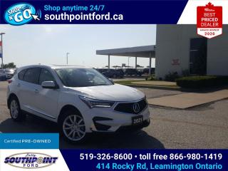 Used 2021 Acura RDX Tech TECH|AWD|NAV|HTD SEATS|MOONROOF|CRUISE|REMOTE START for sale in Leamington, ON