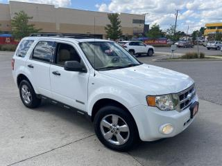 Used 2008 Ford Escape 4WD, Leather, Sunroof, Auto, 3/Y Warranty Availabl for sale in Toronto, ON