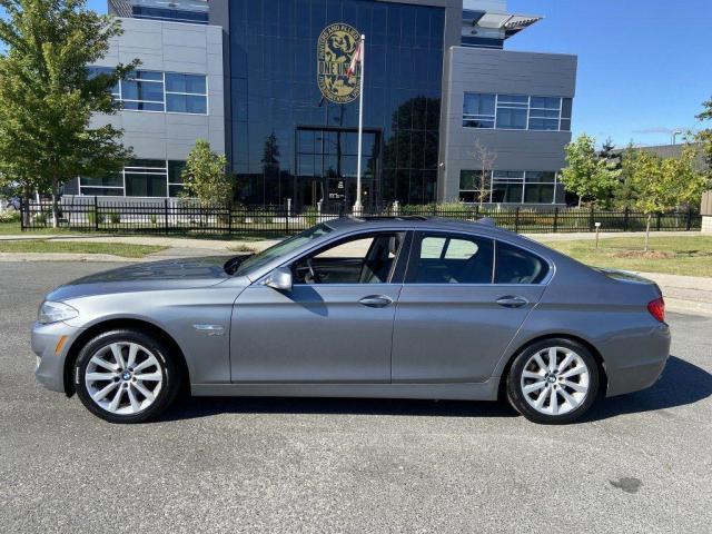 2012 BMW 5 Series Navigation, X-Drive, 4 door,Leather, Sunroof, Auto