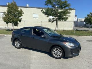 Used 2013 Mazda MAZDA3 Only 121000 KM, Auto, Sunroof, Warranty Available for sale in Toronto, ON