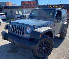 Used 2014 Jeep Wrangler Sport 4X4, V6, TOUCH SCREEN, FOG LIGHTS, 6 SPEAKER SOUND SYSTEM, FRONT & REAR TOW HOOKS for sale in Saskatoon, SK