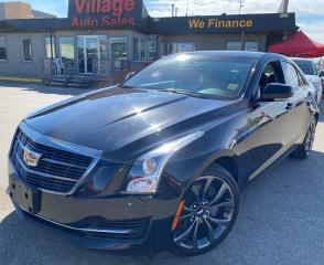 Used 2017 Cadillac ATS 2.0L Turbo Luxury AWD, LEATHER, HEATED STEERING WHEEL, NAVIGATION, BACKUP CAMERA, HEATED SEATS, LOW KM!! for sale in Saskatoon, SK