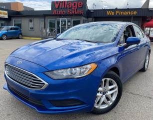 Used 2017 Ford Fusion SE BLUETOOTH, LOW KM!!, BACKUP CAMERA, SIRIUS XM RADIO for sale in Saskatoon, SK