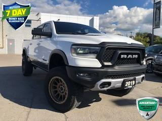 Used 2019 RAM 1500 Rebel REBEL 4X4! LIFT KIT!  ONE OWNER CREW CAB! for sale in Hamilton, ON