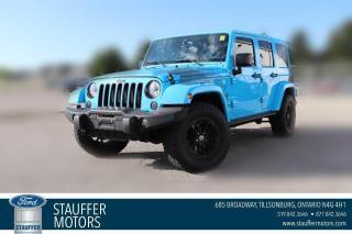 Used 2017 Jeep Wrangler Unlimited Winter for sale in Tillsonburg, ON