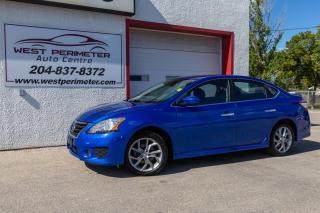 Used 2014 Nissan Sentra 4 DR *SR* Sunroof * Heated Seats * Bluetooth * for sale in Winnipeg, MB