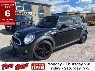 Used 2012 MINI Cooper Hardtop S | Leather | Panoroof | Stick | New Tires| for sale in St Catharines, ON