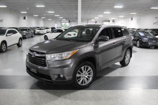 Used 2015 Toyota Highlander XLE I NAVIGATION I LEATHER I SUNROOF I REAR CAM I PUSH START for sale in Mississauga, ON