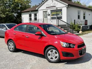 Used 2012 Chevrolet Sonic No-Accidents LOW KMS LT Power Group A/C GAS SAVER for sale in Sutton, ON