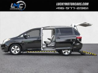 Used 2016 Toyota Sienna LE-MOBILITY WHEELCHAIR VAN-BACKUP CAMERA-CERTIFIED for sale in Toronto, ON