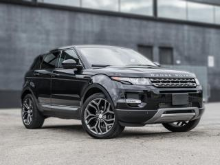 Used 2015 Land Rover Evoque PURE PLUS  NAV SKYROOF B.SPOT MERIDIAN SOUND SYSTEM for sale in North York, ON