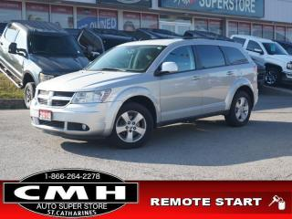 Used 2010 Dodge Journey SXT  BLUETOOTH P/SEAT REM-START 17-AL for sale in St. Catharines, ON