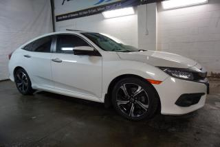 Used 2018 Honda Civic TOURING TURBO NAVI DUAL CAMERA CERTIFIED 2YR WARRANTY SUNROOF BLUETOOTH HEATED LEATHER CRUISE for sale in Milton, ON