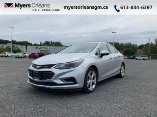 Used 2017 Chevrolet Cruze Premier  - Leather Seats for sale in Orleans, ON