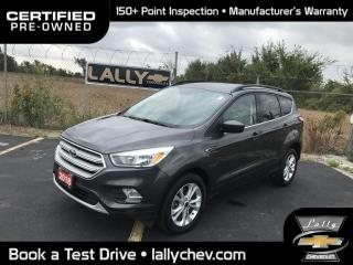 Used 2018 Ford Escape SE**LOCAL TRADE**4WD**BACK UP CAMERA**HEATED SEATS for sale in Tilbury, ON