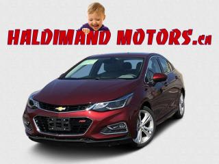 Used 2016 Chevrolet Cruze Premier RS for sale in Cayuga, ON