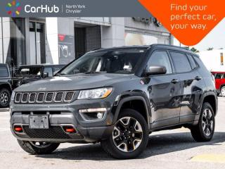 Used 2017 Jeep Compass Trailhawk 4x4 Heated Leather Seats & Wheel Backup Camera for sale in Thornhill, ON