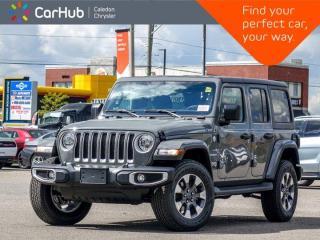 New 2021 Jeep Wrangler Unlimited Sahara 4x4 Hard Top Navigation Bluetooth Blind Spot Remote Start Apple Carplay 18